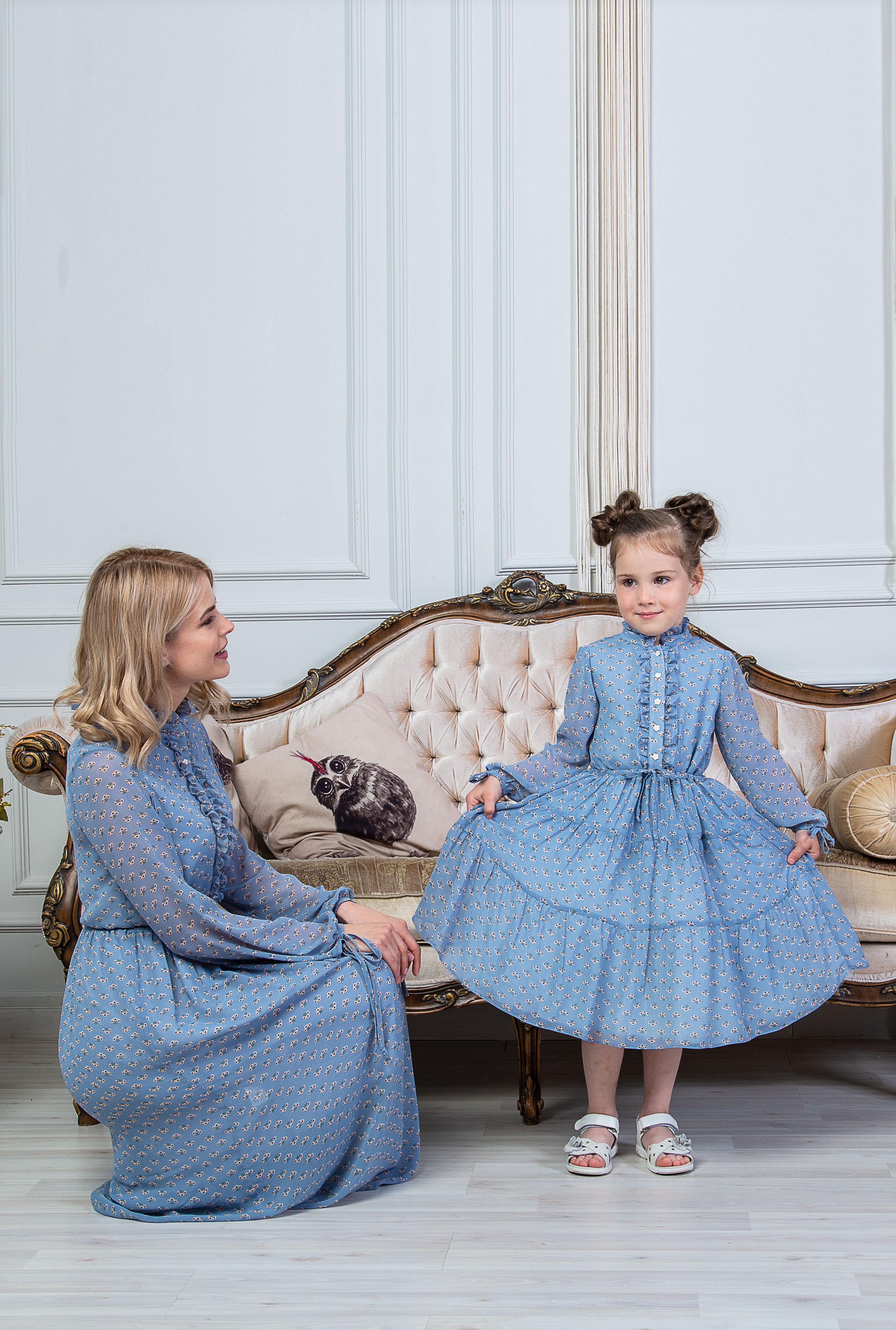 Family look, Look - Платье Ирина, Лабиринт «Мария Браславская»  - купить со скидкой