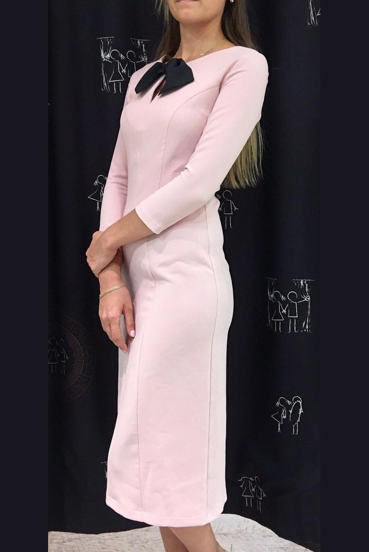 Купить Платья, Платье Амели (розовое), Лабиринт «Мария Браславская»